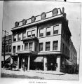 Hotel Berkeley (to 1911). Copy of photograph of Hotel Berkeley in a book.  Photo shows a four...