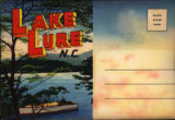 Souvenir Folder of Lake Lure